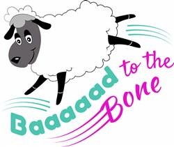 Baaaaad To The Bone print art