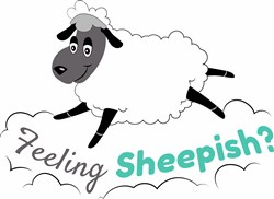 Feeling Sheepish print art