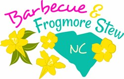Barbecue & Frogmore Stew print art