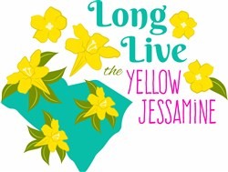 Yellow Jessamine print art