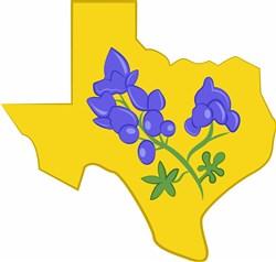Texas Bluebonnet print art