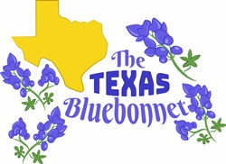 The Texas Bluebonnet print art