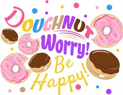 Doughnut Worry print art