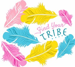 Find Your Tribe print art