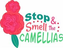 Smell The Camellias print art