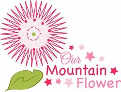 Mountain Flower print art