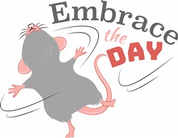 Embrace The Day print art