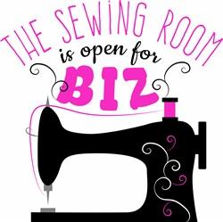 Sewing Room print art