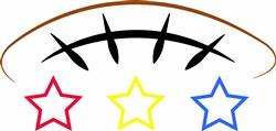 Football Star print art