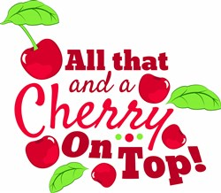 Cherry On Top print art