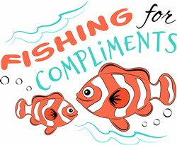 Fishing For Compliments print art