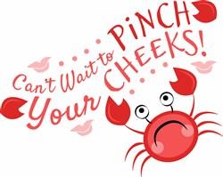 Pinch Your Cheeks print art
