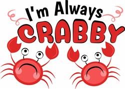 Always Crabby print art