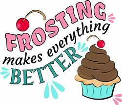Cupcake Frosting print art