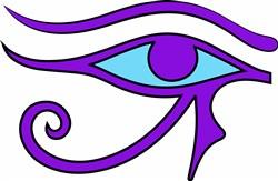 Eye Of Horus print art