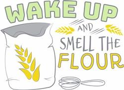Smell The Flour print art