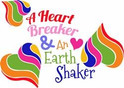 A Heart Breaker print art