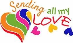 Sending Love print art