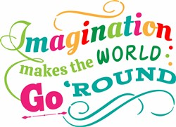 Imagination Go Round print art