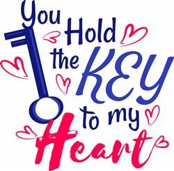 Key To My Heart print art