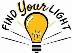 Find Your Light print art