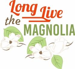 The Magnolia print art