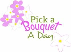 Pick A Bouquet print art
