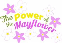 Power Of The Mayflower print art