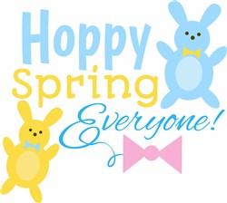 Hoppy Spring print art