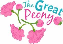 The Great Peony print art