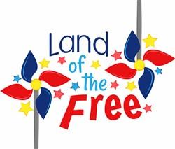 Land Of Free print art