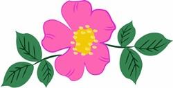 Rose Bloom print art