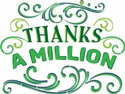 Thanks A Million print art