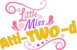 Little Miss Atti-Two-d print art