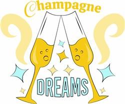 Champagne Dreams print art