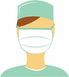 Doctor In Mask print art