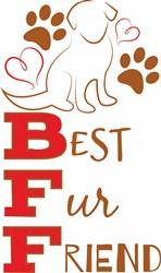 Best Fur Friend print art