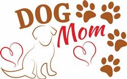 Dog Mom print art