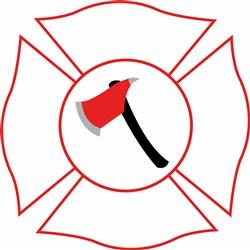 Firefighter print art