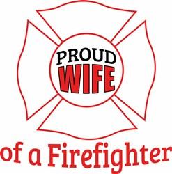 Wife Of Firefighter print art