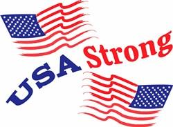 USA Strong print art