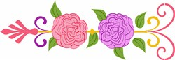 Floral Arrow print art
