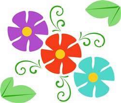 Flowers print art