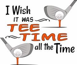 Tee Time print art