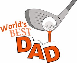 Worlds Best Dad print art