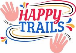 Happy Trails print art