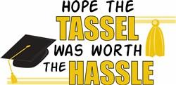 Tassel Hassle print art