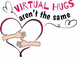 Virtual Hugs print art