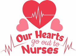 Our Hearts Nurses print art