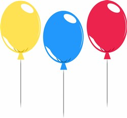 Balloons print art